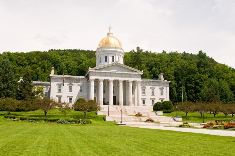 De staatscapitol van Vermont stock foto's