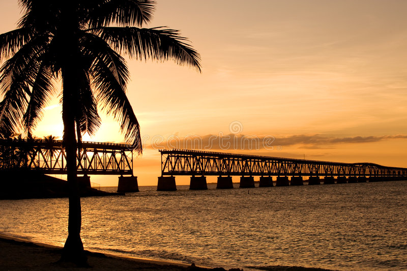 De staatspark van Bahia Honda royalty-vrije stock foto's
