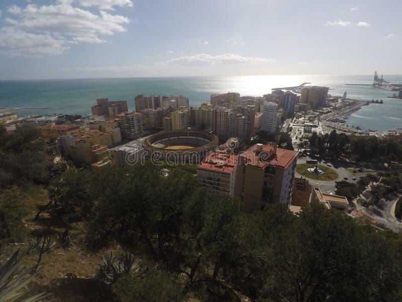 De stad 🠇 ªðŸ ‡ ¸ van Malaga stock foto's