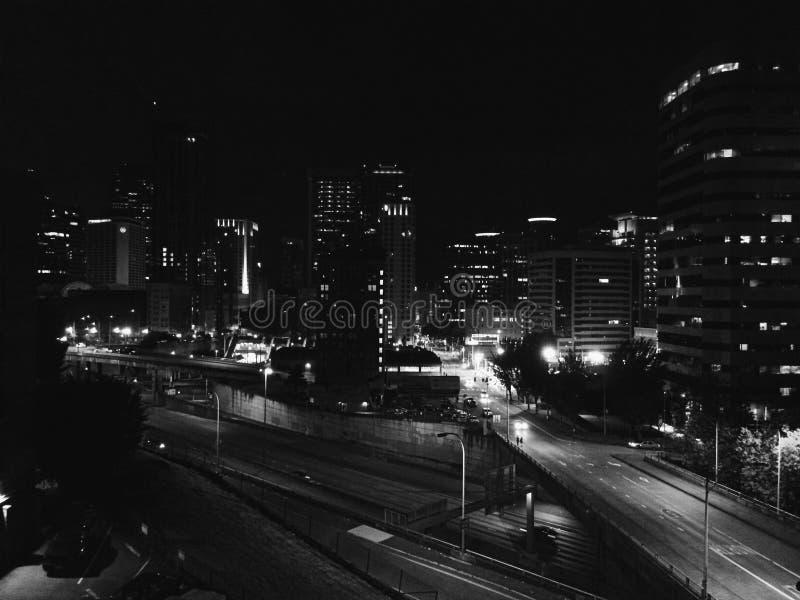 De stad stock foto's