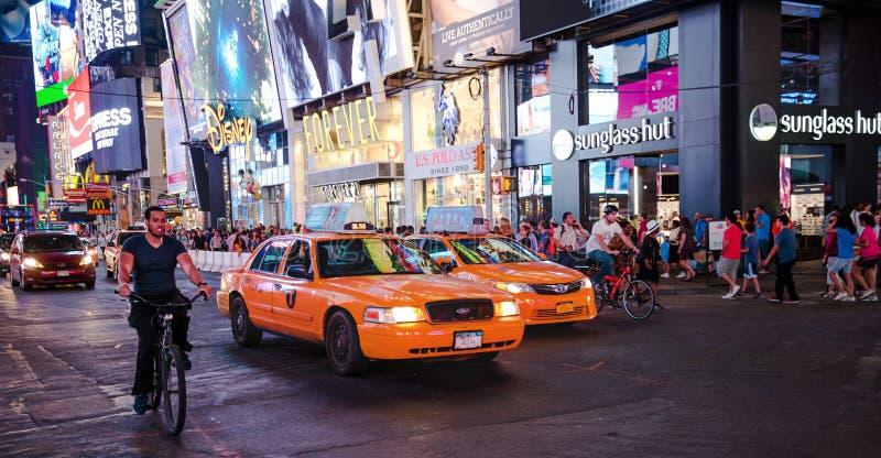 De stad Broadway van New York royalty-vrije stock afbeeldingen