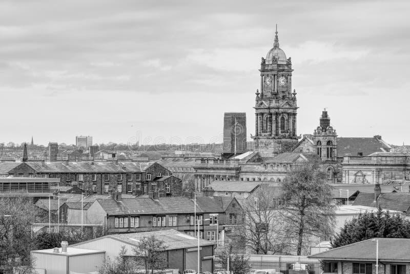 De Stad Hall Wirral van Birkenhead stock foto