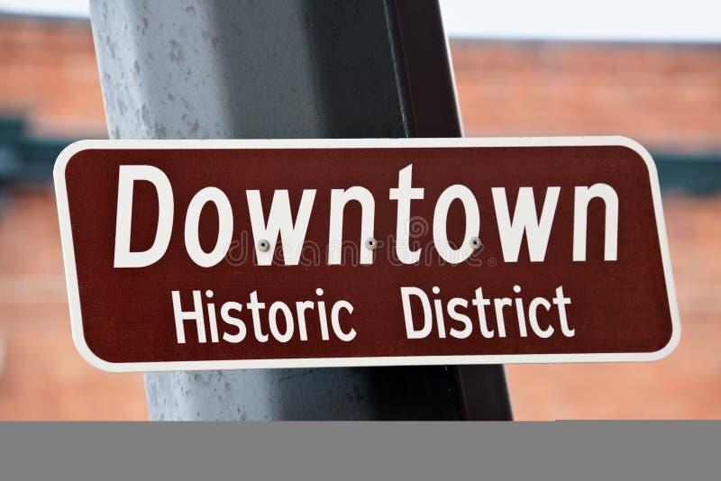 De stad in - Historisch District royalty-vrije stock fotografie