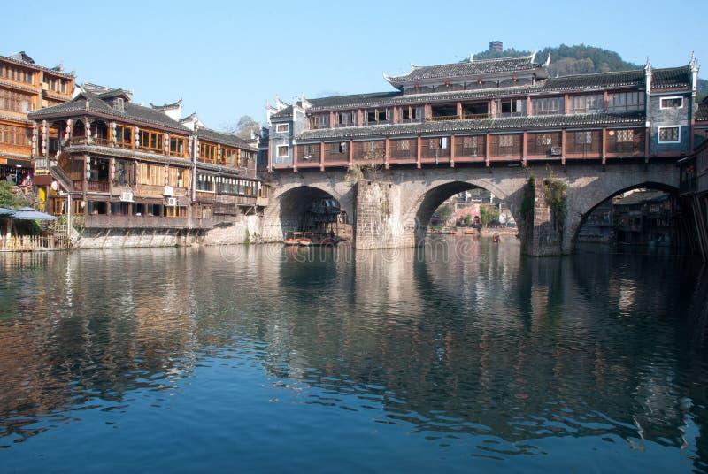 De Stad Hongqiao van China Hunan Phoenix royalty-vrije stock fotografie