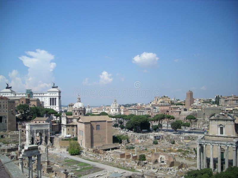 De stad Italië van Rome stock afbeelding
