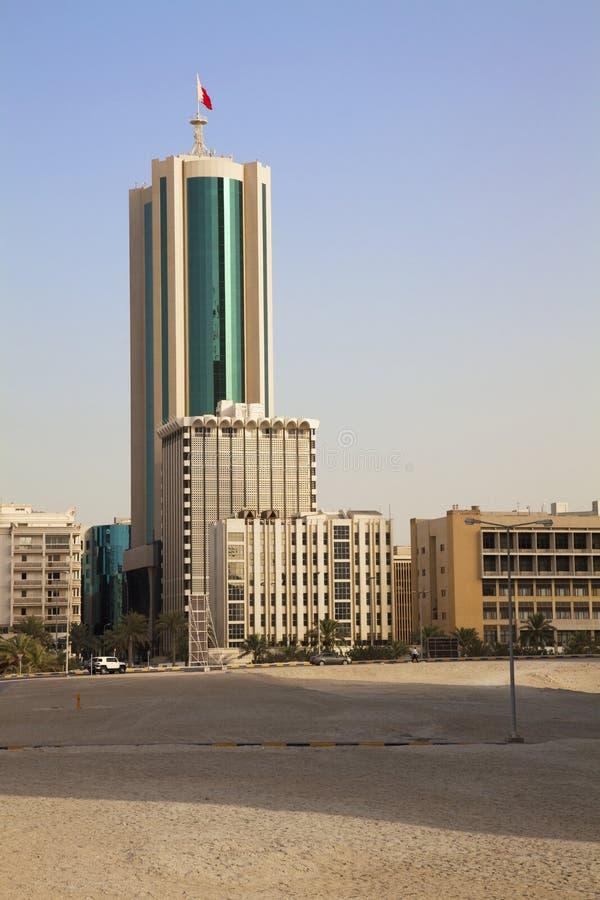 De stad in, Manama, Bahrein royalty-vrije stock foto's