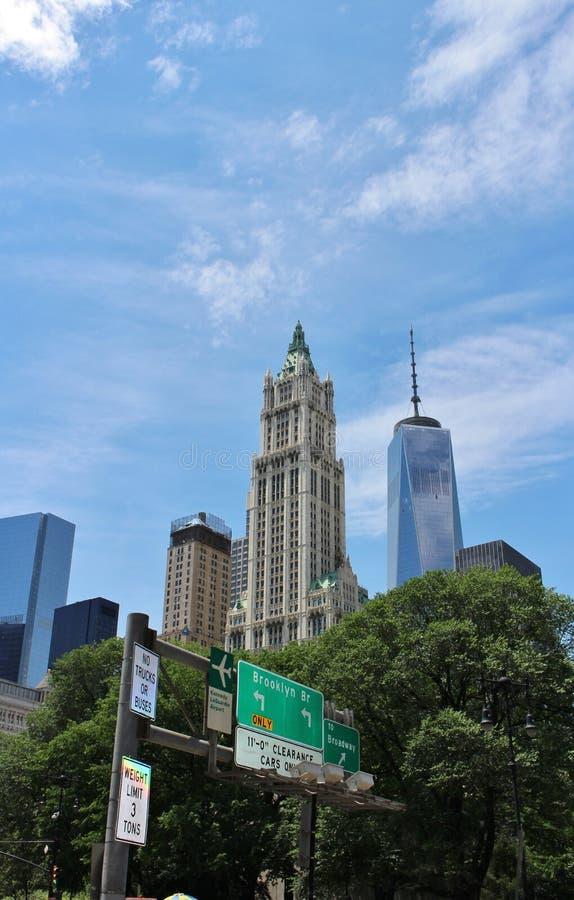Download De Stad In, Manhattan, New York Stock Foto - Afbeelding bestaande uit herdenkings, bouw: 54084568