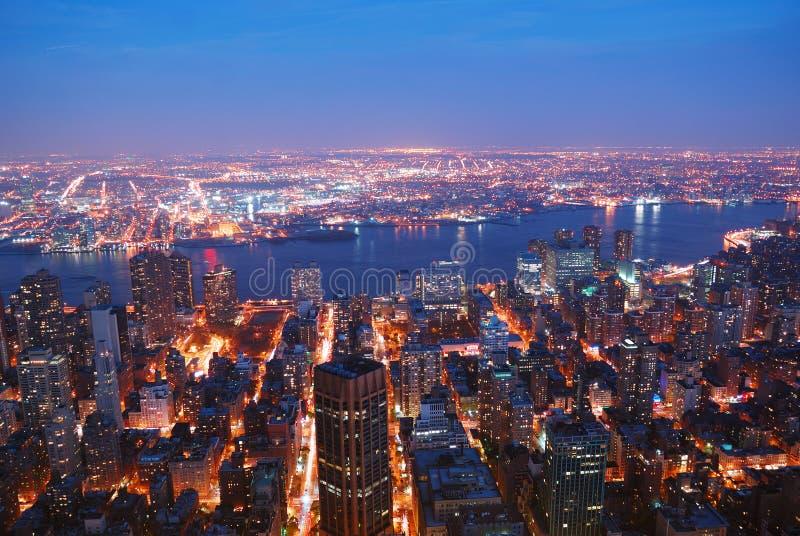 De Stad Manhattan van New York stock fotografie