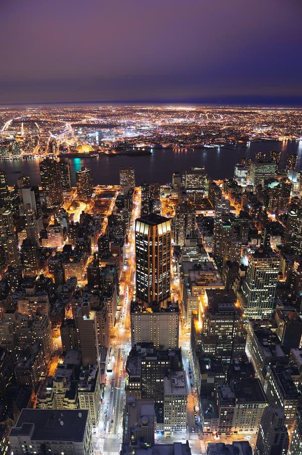 De Stad Manhattan van New York stock afbeeldingen