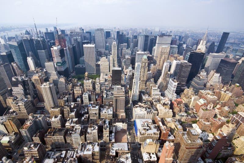 De Stad Manhattan van New York royalty-vrije stock afbeelding