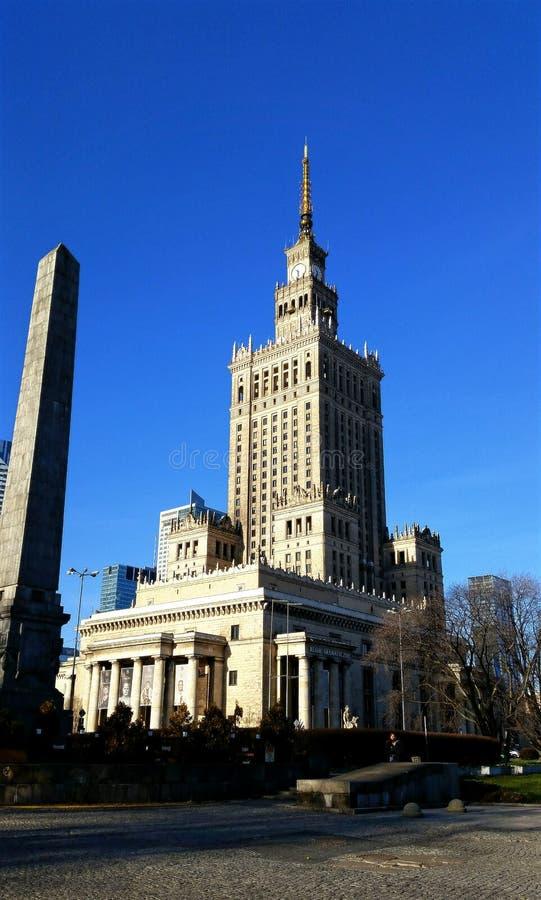 De stad Polen van Warshau stock foto