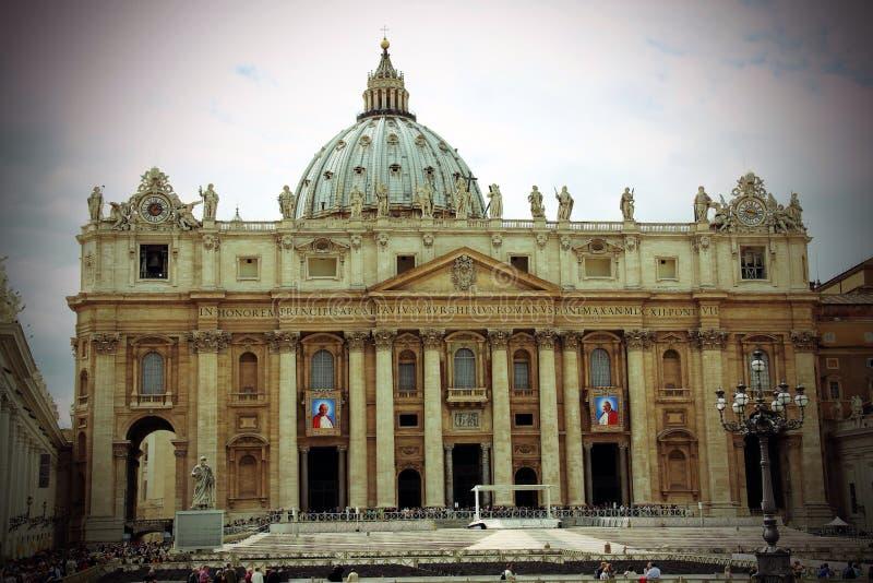 De Stad Rome van Vatikaan stock afbeelding