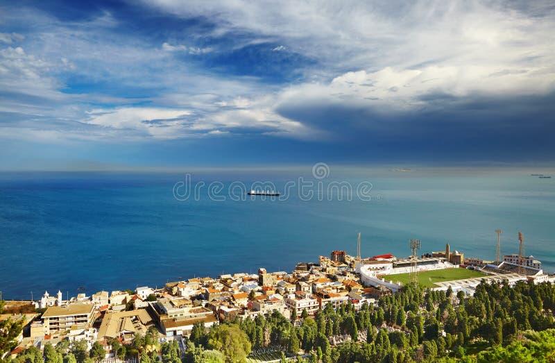 De stad van Algiers, Algerije stock foto