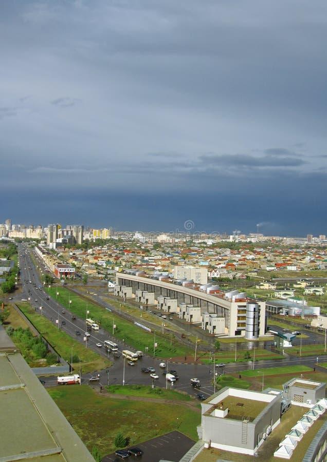 De stad van Astana. royalty-vrije stock fotografie