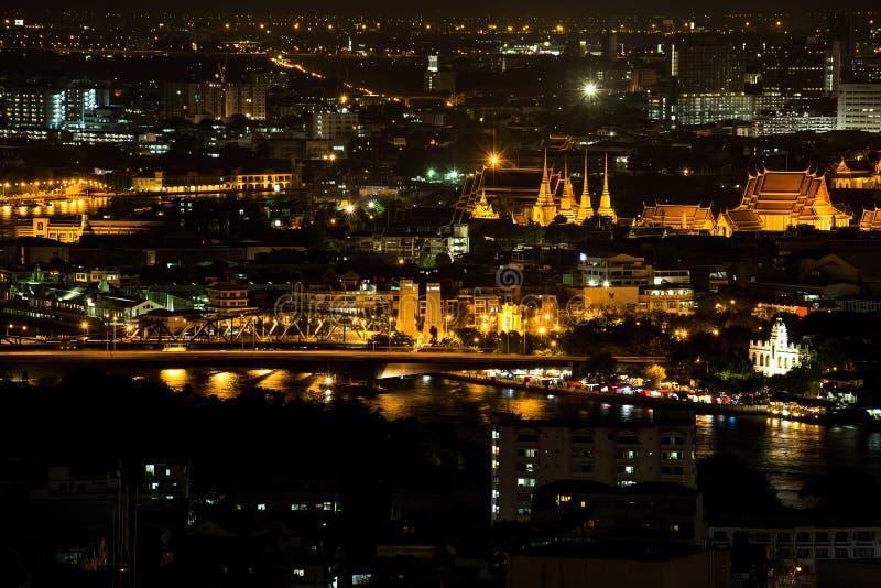 De stad van Bangkok stock foto