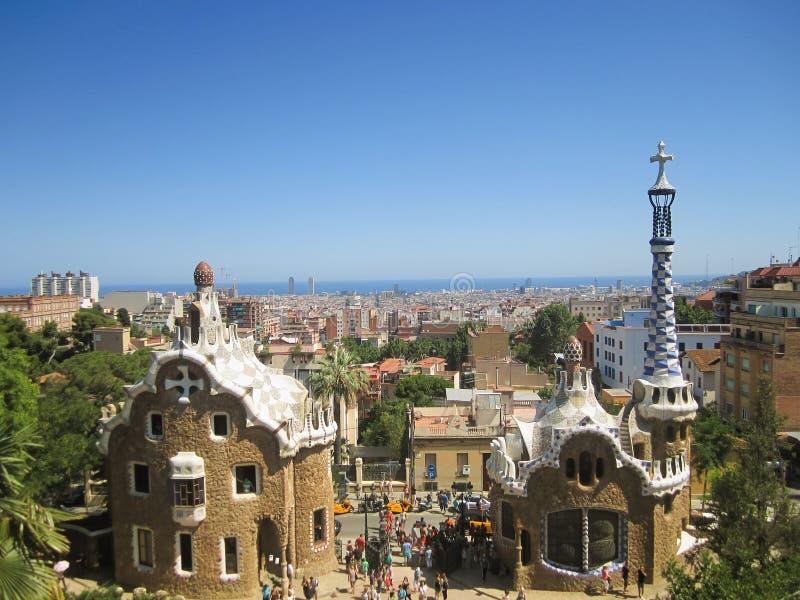 De Stad van Barcelona, Spanje royalty-vrije stock foto's