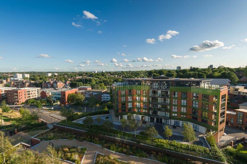 De stad van Birmingham, het UK royalty-vrije stock afbeeldingen