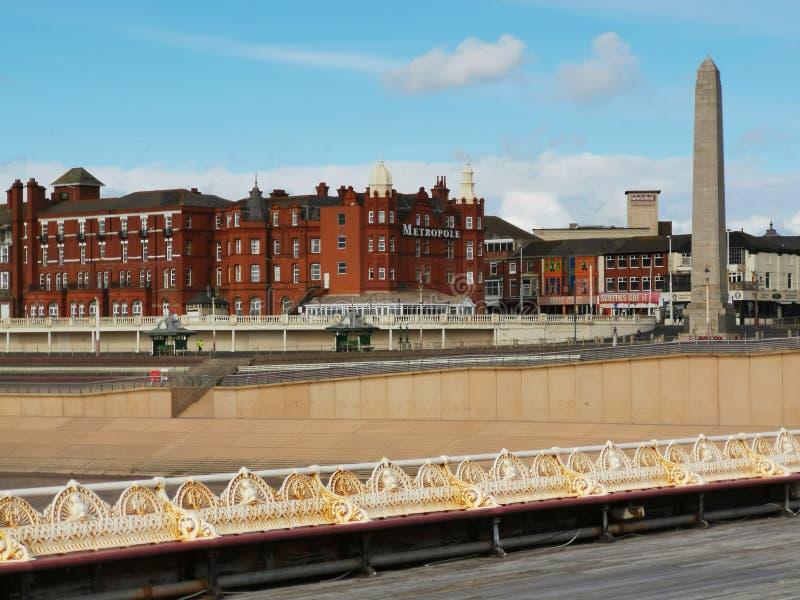 De stad van Blackpool royalty-vrije stock foto