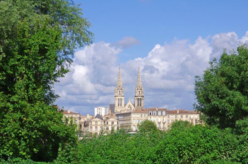 De stad van Bordeaux royalty-vrije stock fotografie