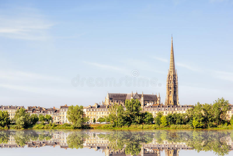 De stad van Bordeaux in Frankrijk royalty-vrije stock foto