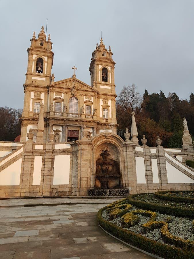 De stad van Braga, Portugal - een mooie plaats stock afbeelding