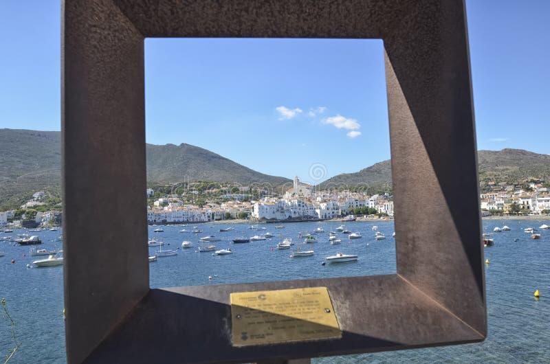 De stad van Cadaques stock foto