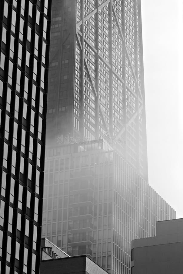 De Stad van Chicago in Illinois stock fotografie