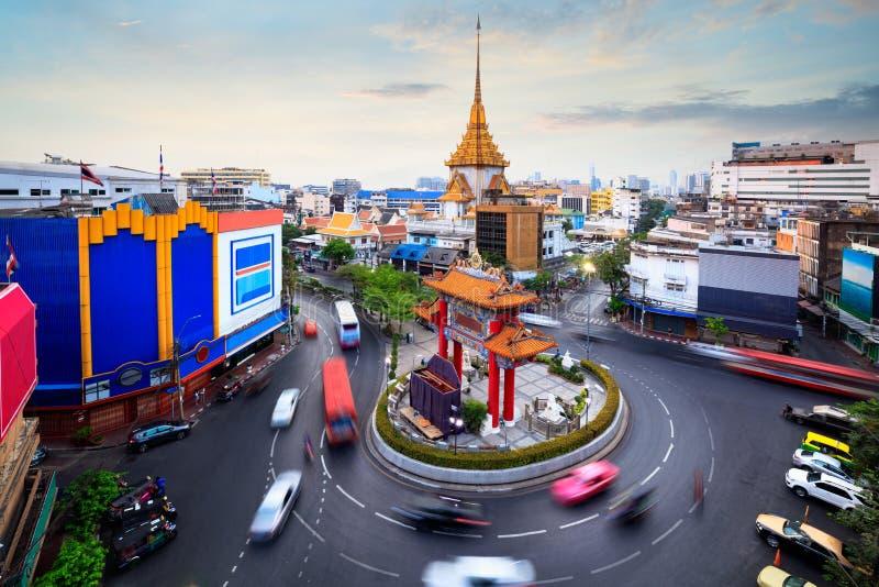 De stad van China van de Odeancirkel royalty-vrije stock foto
