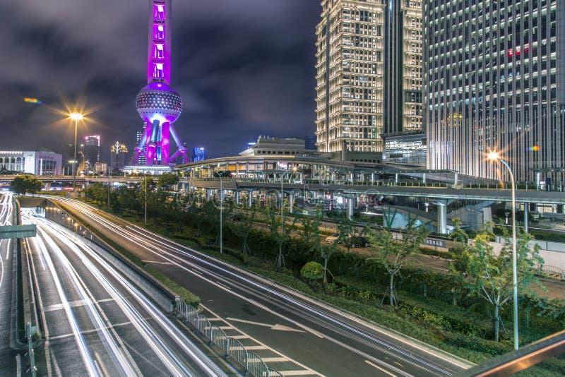 De stad van China van Shanghai royalty-vrije stock foto's