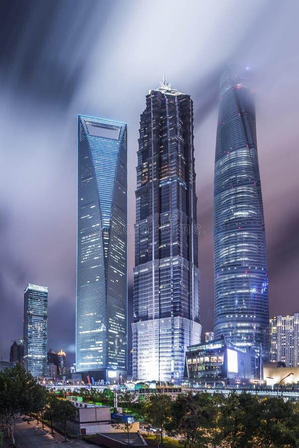 De stad van China van Shanghai royalty-vrije stock foto