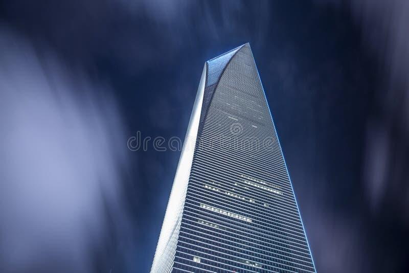 De stad van China van Shanghai stock afbeeldingen