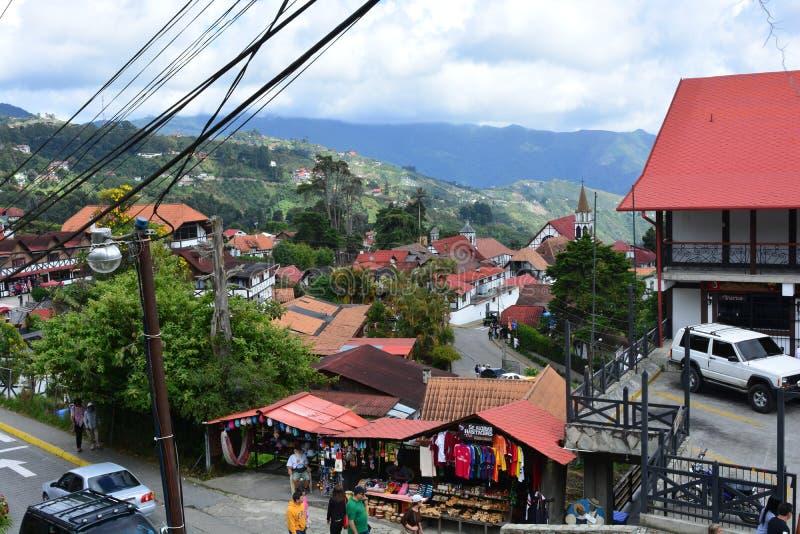 De stad van Coloniatovar, Venezuela royalty-vrije stock afbeeldingen