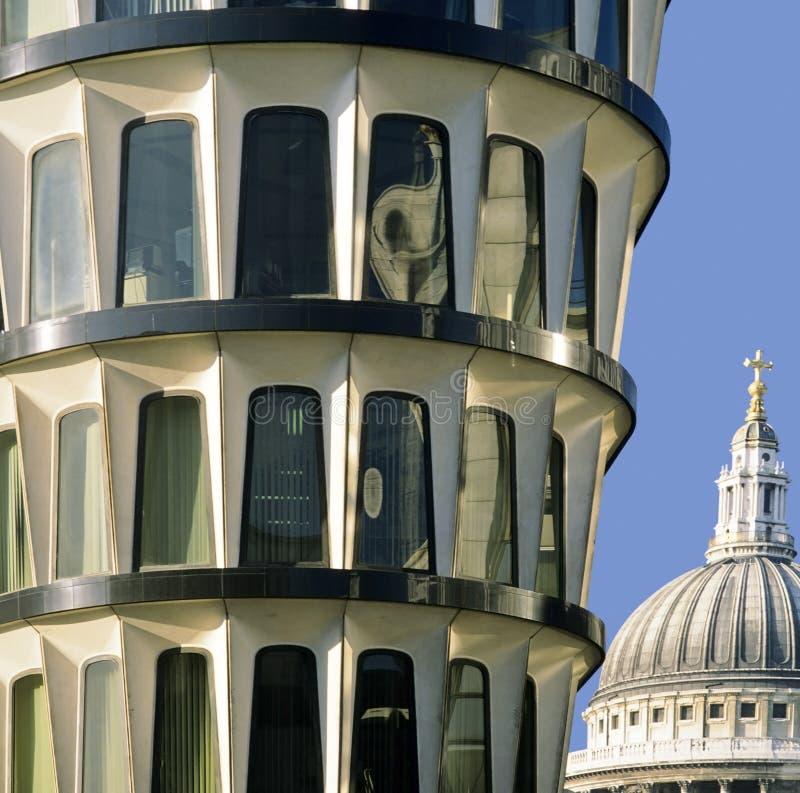 De stad van de bank van Londen royalty-vrije stock fotografie
