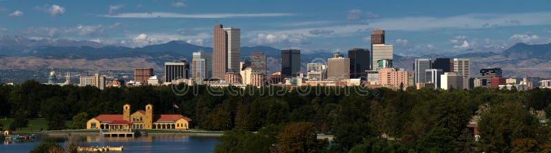 De Stad van de binnenstad van Denver, Colorado royalty-vrije stock foto's