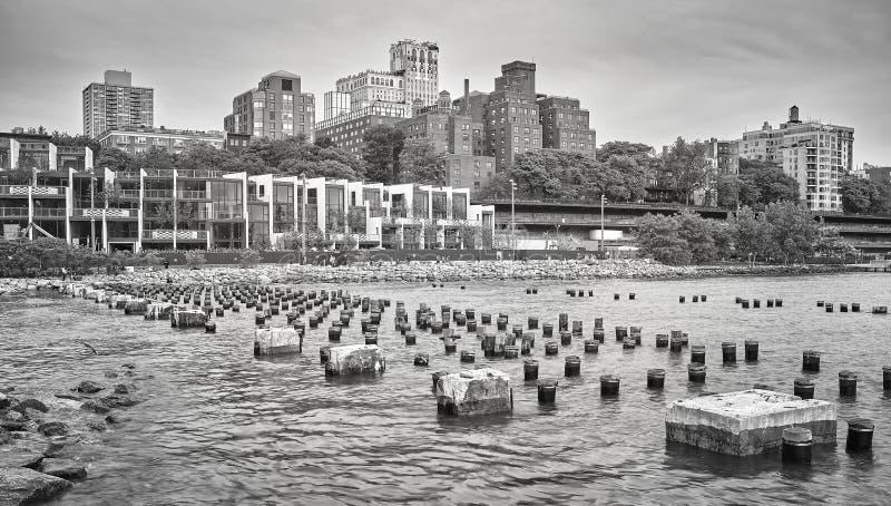 De Stad van de de Hoogtenwaterkant van Brooklyn, New York, de V.S. royalty-vrije stock afbeeldingen