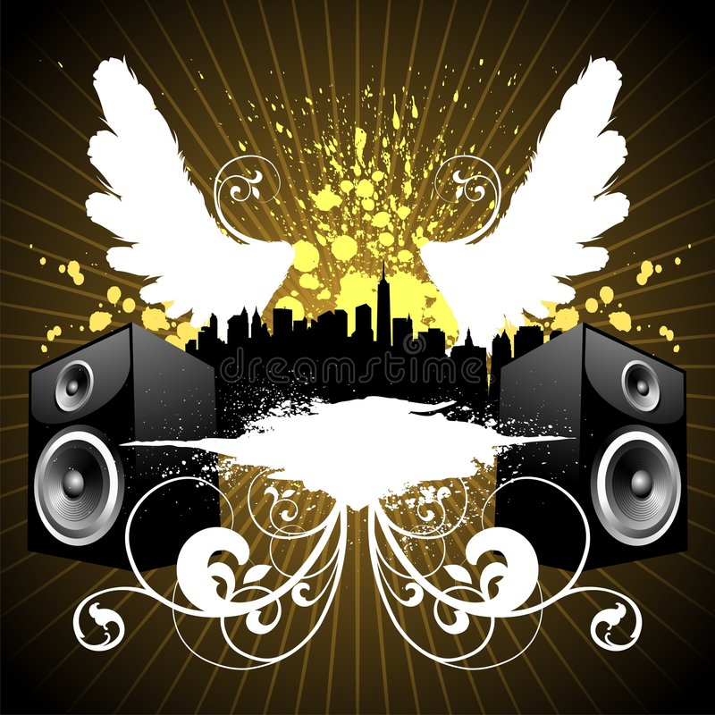 De stad van de muziek
