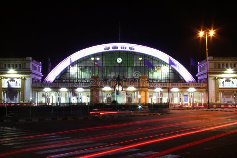 De stad van de verkeersverlichting royalty-vrije stock afbeelding