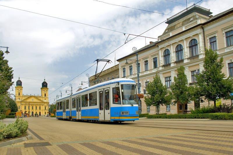 De stad van Debrecen royalty-vrije stock afbeeldingen