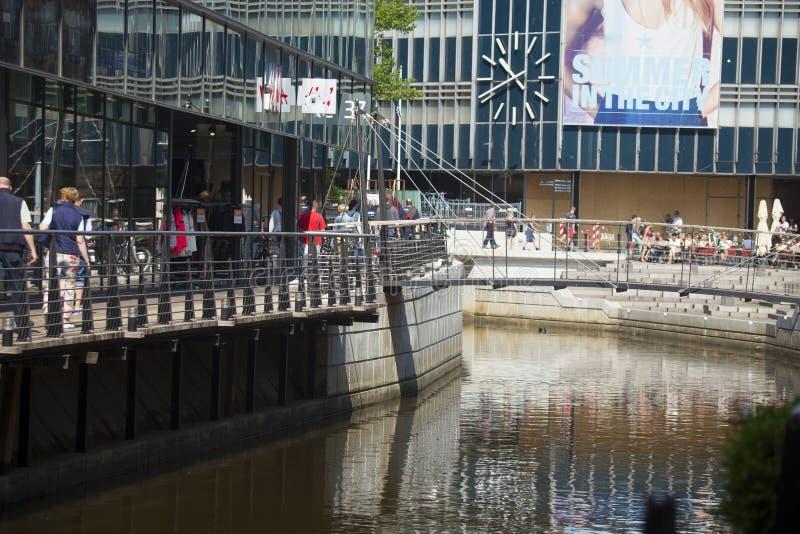 De stad van Denemarken, Arhus royalty-vrije stock afbeelding