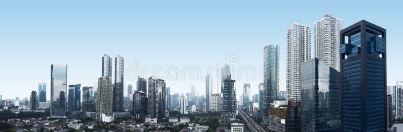 De Stad van Djakarta royalty-vrije stock afbeeldingen