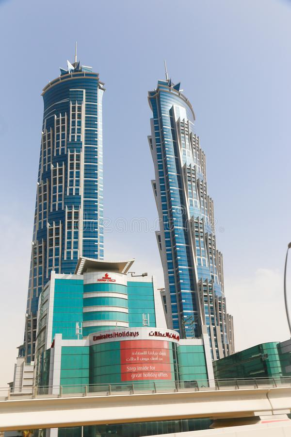 De stad van Doubai stock foto's