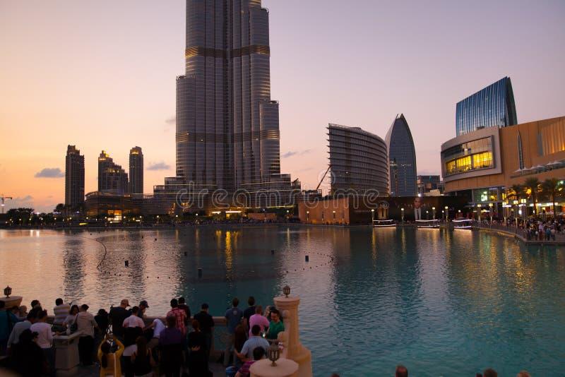 De Stad van Doubai stock fotografie