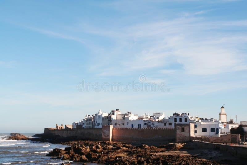 De stad van Essaouira in Marokko stock foto