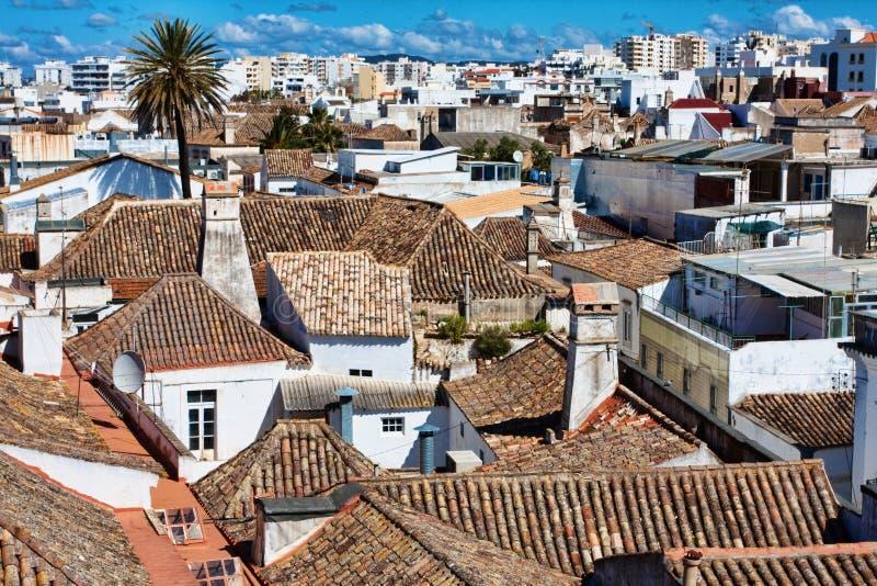 De stad van Faro royalty-vrije stock afbeeldingen