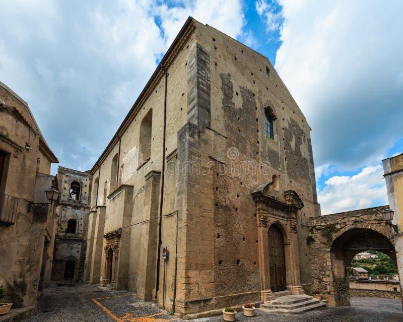 De stad van Fiumefreddobruzio, Calabrië, Italië royalty-vrije stock foto