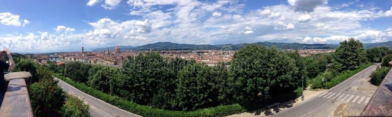 De stad van Florence royalty-vrije stock foto's