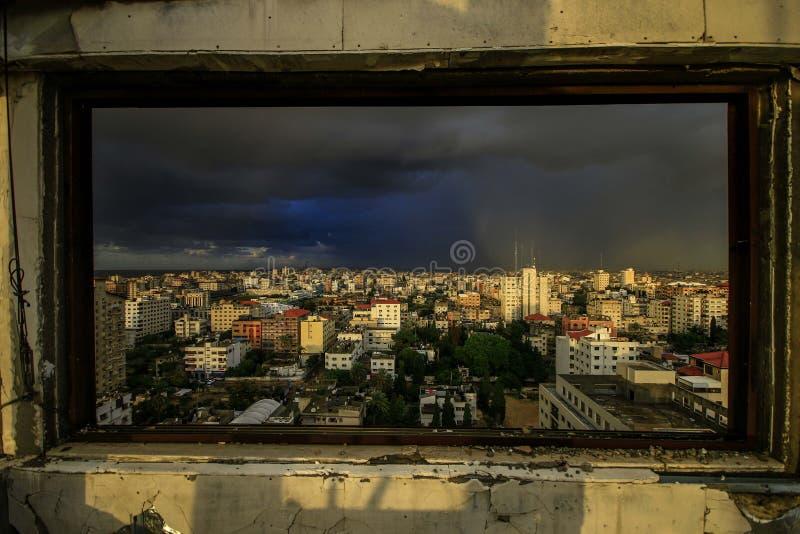 De Stad van Gaza royalty-vrije stock foto
