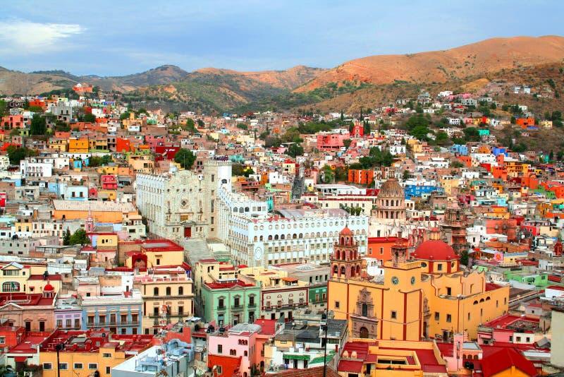 De stad van Guanajuato royalty-vrije stock foto's