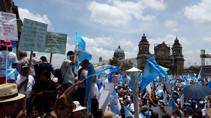 De Stad van Guatemala, Nationaal Paleis stock foto's