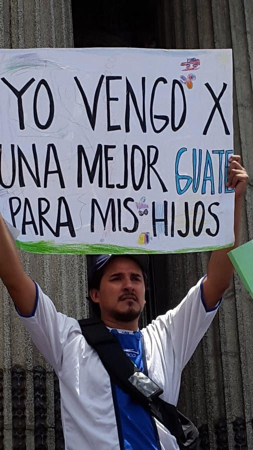 De Stad van Guatemala, Nationaal Paleis stock foto